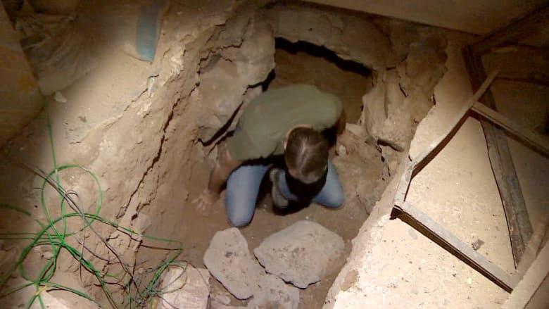 CNN داخل أنفاق المعارضة في حمص