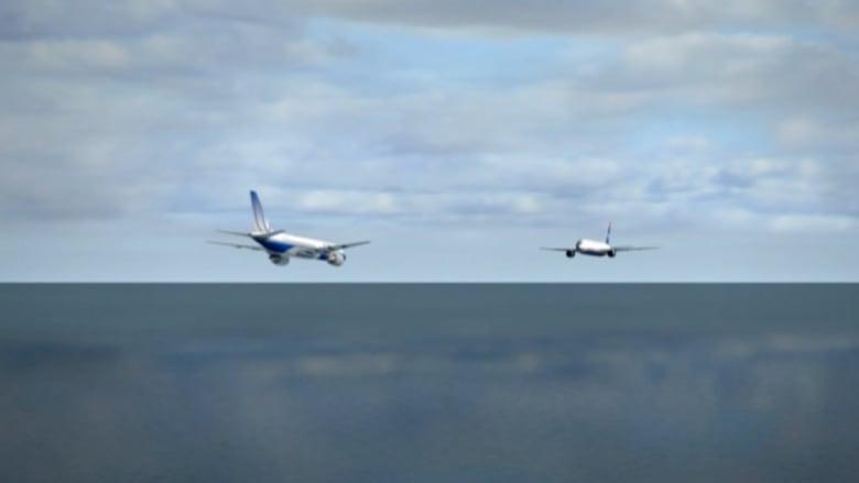 الرعب يستمر.. طائرتان تتفادان الاصطدام في اللحظات الأخيرة