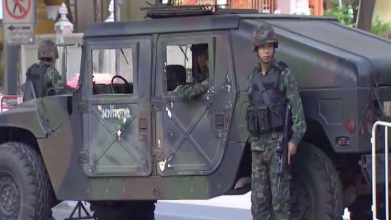 تايلند.. الدبابات في الشوارع والجيش يؤكد أنه ليس انقلاباً
