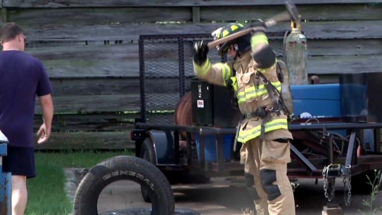 رجال إطفاء سعوديون يتدربون في الولايات المتحدة