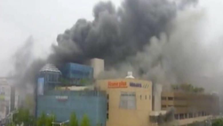 كوريا الجنوبية : 7 قتلى و 40 جريحاً في حريق نجم عن شرارة