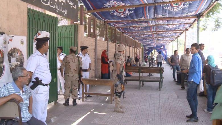 """CNN ترصد """"الإقبال القليل"""" للمصريين على التصويت ببعض مراكز الاقتراع"""