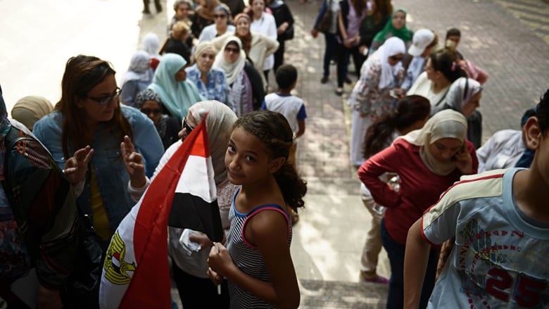 انتخابات الرئاسة المصرية ساعة بساعة وبالصور