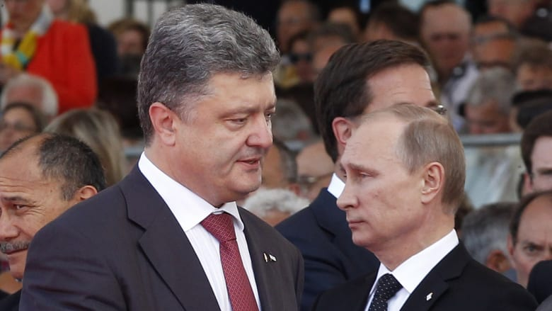رئيس أوكرانيا الجديد بعد أداء القسم: لا مساومة حول وحدة البلاد