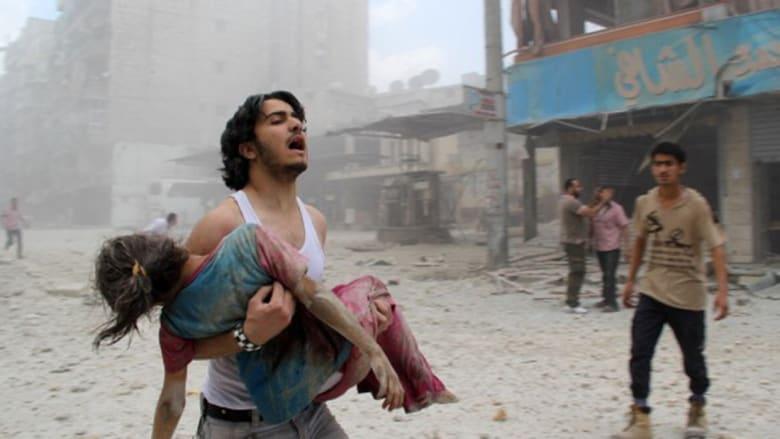 CNN تعود مرة أخرى إلى حلب.. هذه جهنم