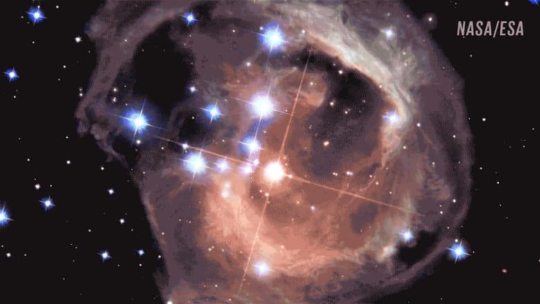 أربع سنوات من الانفجارات بأحد النجوم .. شاهدها في دقيقة