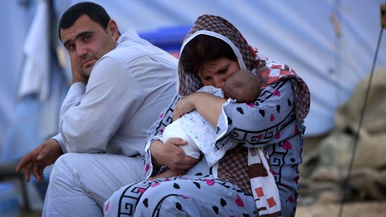 أطفال العراق .. مأساة النزوح من نينوى ومناطق القتال