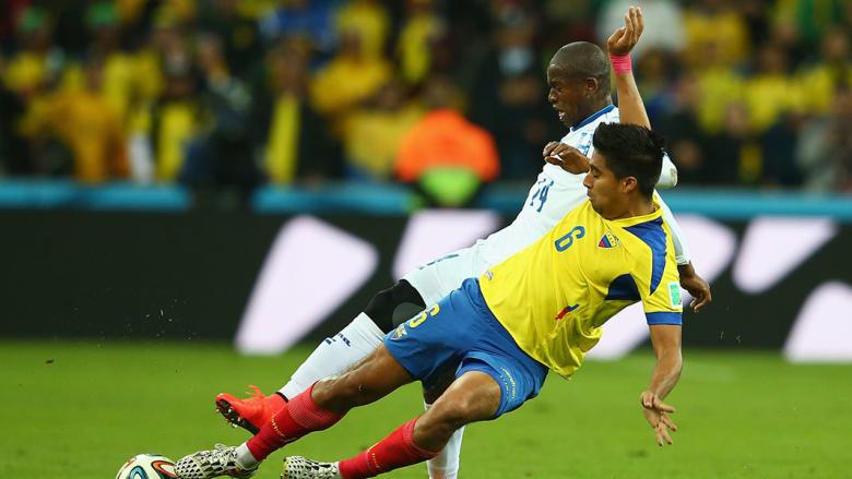 كأس العالم 2014... فوز الإكوادور على هندوراس بهدفين مقابل هدف