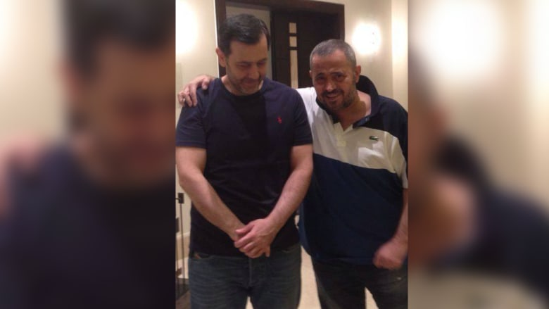 جورج وسوف مع شقيق الرئيس السوري ماهر الأسد