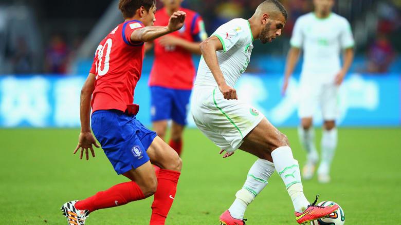مباراة الجزائر وكوريا الجنوبية