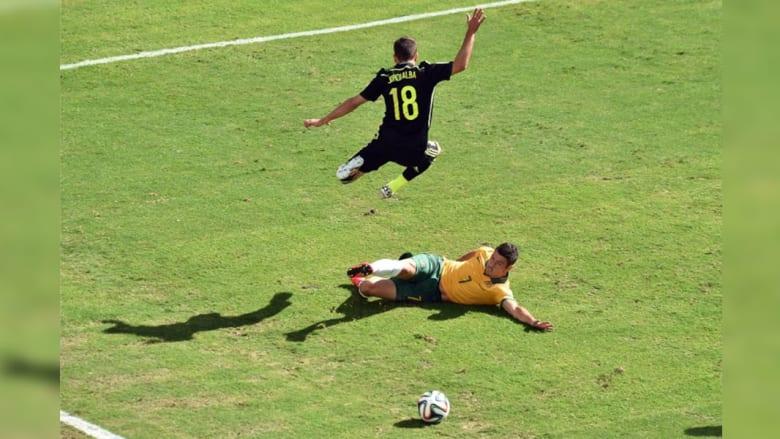 مباراة إسبانيا وأستراليا