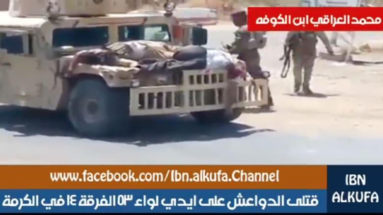معارك بين الجيش العراقي وداعش في الفلوجة