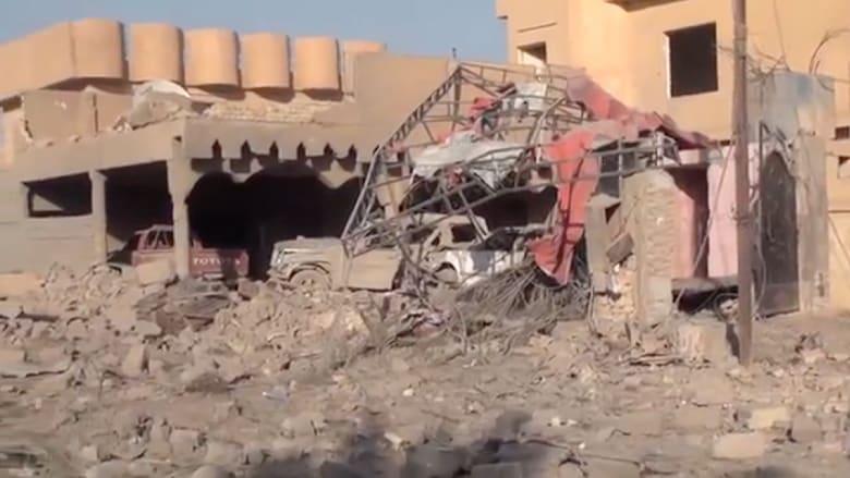 القوات العراقية تقصف مواقع بتكريت وتلحق أضرارا ببعض منازلها