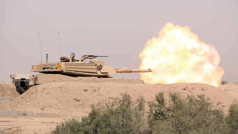 بالفيديو.. الجيش العراقي يبث عمليات تطهير طريق تكريت سامراء من مقاتلي داعش
