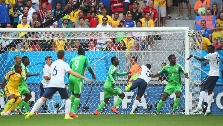 كأس العالم 2014.. فرنسا بربع النهائي على حساب نيجيريا