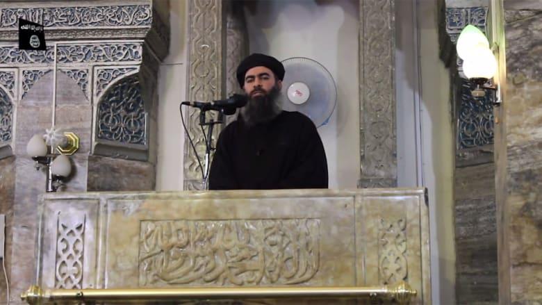 شهود لـCNN: تعطيل الاتصالات قبل وصول البغدادي للمسجد وموكبه ضم سيارات للتشويش