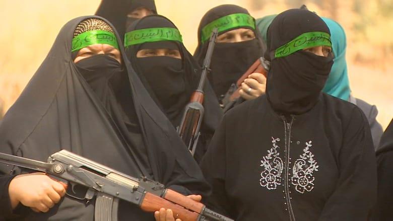 نساء العراق يتجندن للدفاع عن بغداد
