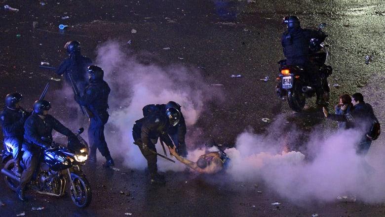 احتفالات بكأس العالم تتحول الى عنف في الأرجنتين