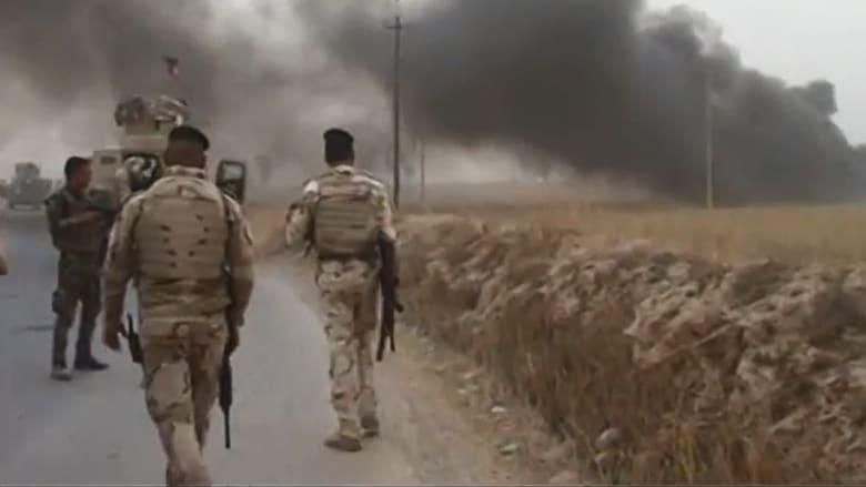 بالفيديو.. الاشتباكات بين القوات العراقية ومقاتلي داعش