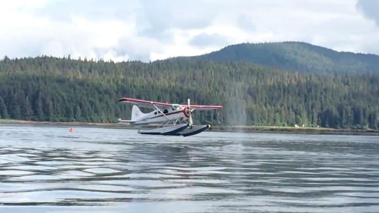 هبوط طائرة على ظهر حوت؟