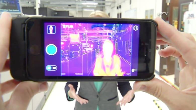 هاتف جديد بكاميرا تسمح لك بالنظر من خلال الجدران