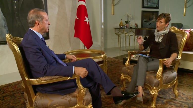 أردوغان لـ CNN: نعم السيسي طاغية.. وقطر تقف مع الضحية.. وإسرائيل إرهابية