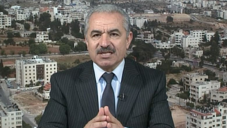 اشتية لـ CNN: مدني إسرائيلي واحد قتل بالصواريخ و 80% من قتلى غزة مدنيون