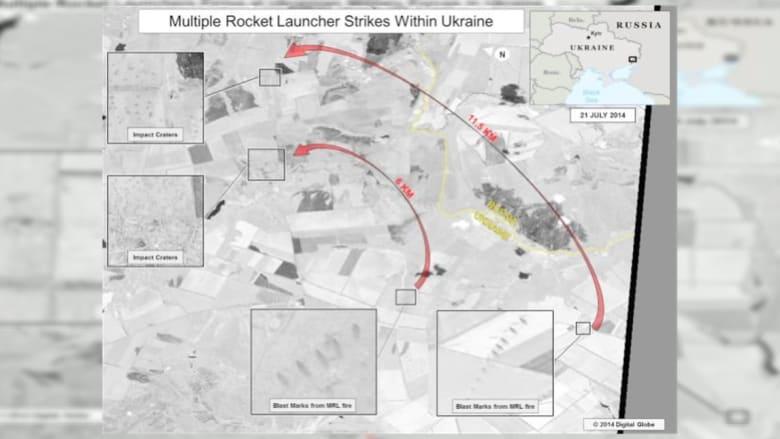 أمريكا تنشر صورا تتهم فيها روسيا بالهجوم على القوات الأوكرانية