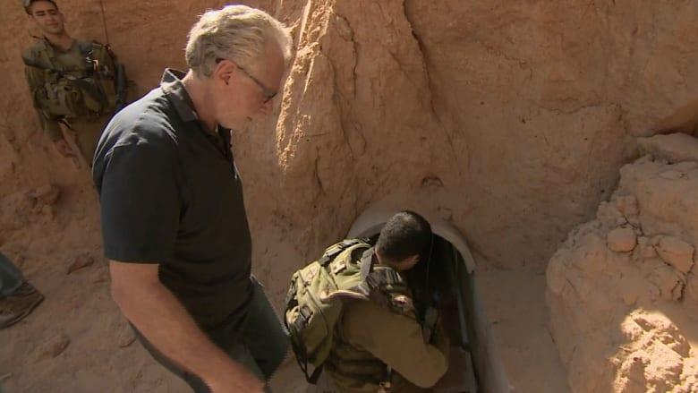 كاميرا CNN داخل الأنفاق التي تستخدمها حماس