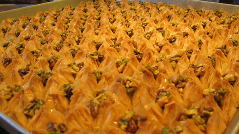 حلوى العيد في دمشق