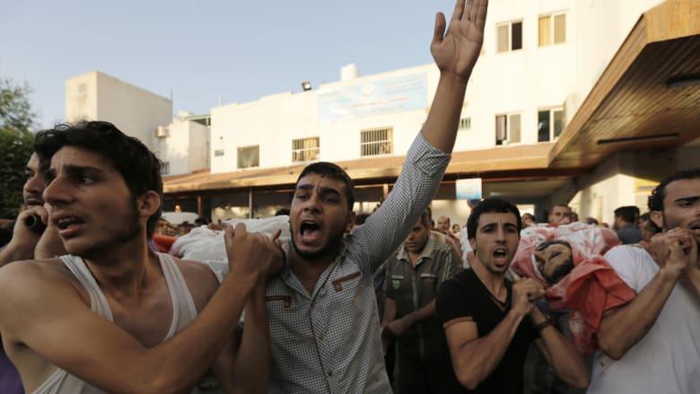 19 قتيلا و126 جريحا بقصف مدرسة للأونروا.. وداخلية غزة تهاجم الوكالة وتدعوها لإدانة إسرائيل