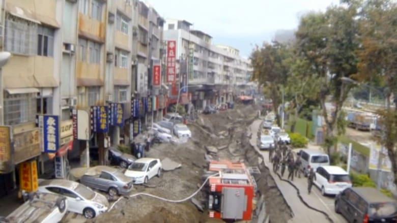 انفجار ناجم عن تسرب الغاز يقتل 22 شخصا في تايوان
