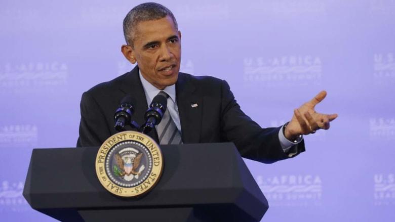 أوباما: لست متعاطفا مع حماس .. يجب وقف الصواريخ وتدمير الأنفاق وإعادة الإعمار