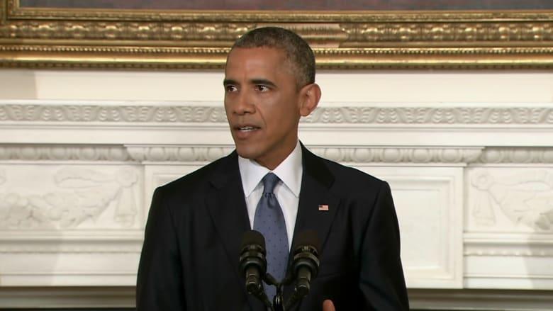 أوباما: وجهت الجيش لضرب قوافل إرهابيي داعش