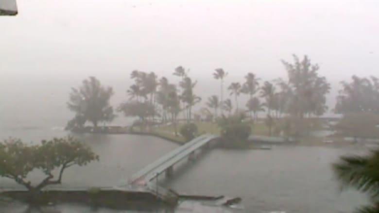 فيديو فاصل زمني يظهر العاصفة التي ضربت هاواي