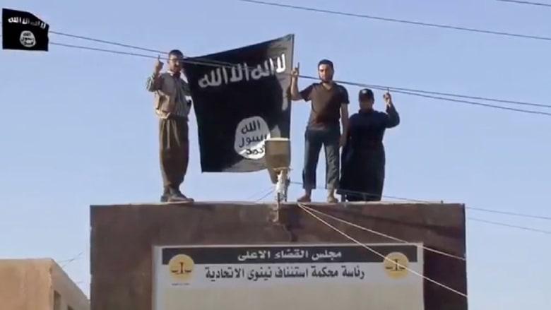 """فيديو يظهر استيلاء """"داعش"""" على سد الموصل"""
