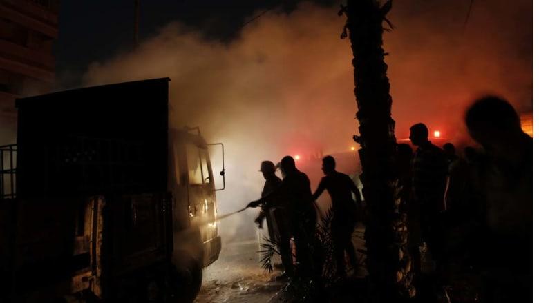 غارات على غزة وصواريخ على إسرائيل بعد الإعلان في القاهرة عن هدنة لـ 5 أيام