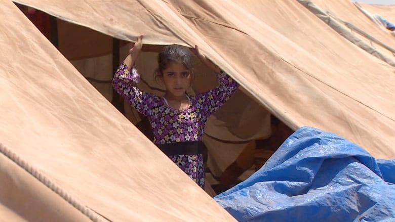 أيزيديو سنجار يصلون إلى سوريا بعد فرارهم من الموت