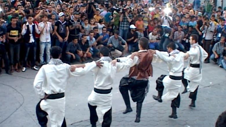 غزة.. هدنة للرقص والاحتفال.. عرس خلال التهدئة