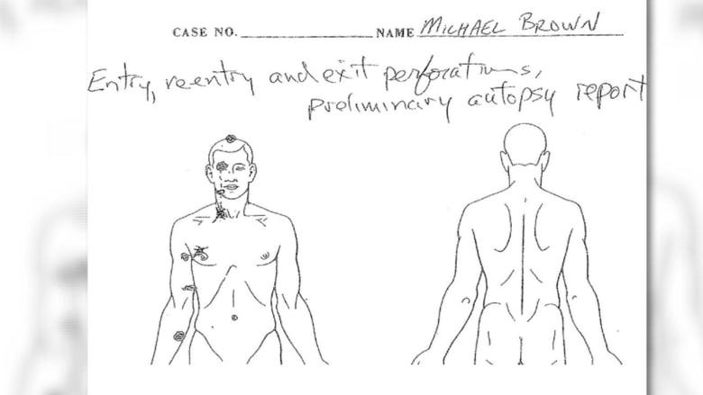 نتائج تشريح جثة مطلق أحداث فيرغسون لا توفّر ردودا حاسمة