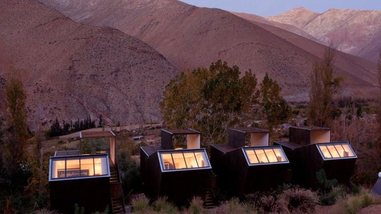 فندق أسترونوميكو إليككوي دوموس في شيلي