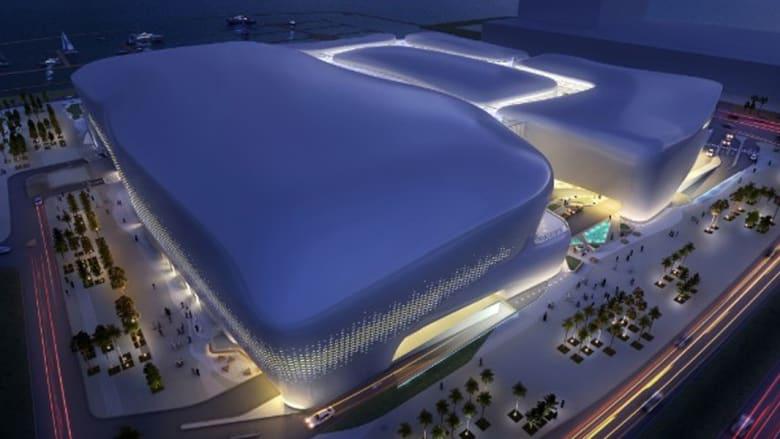 """أعاجيب """"لوسيل"""" المدينة التي تظهر ببطء في الصحراء في انتظار مصير قطر 2022"""