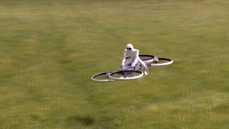 """""""الدراجات الطائرة"""" حلم أصبح أقرب للحقيقة"""