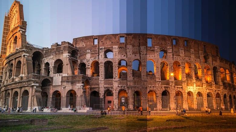 شاهد.. ستة صور كل واحدة مكونة من 32 لقطة للمكان ذاته