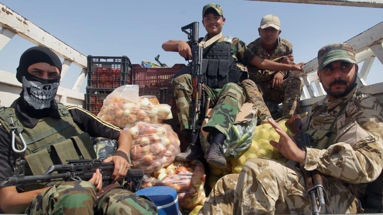 """العراق: مقتل أمير داعش الرئيسي بـ""""الحويجة"""".. والتنظيم يزعم إسقاط طائرة C130 فوق سبايكر"""