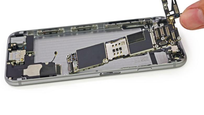 ماهي كلفة صناعة الأجزاء الرئيسية لآيفون 6؟