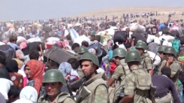 45 ألف لاجيء من أكراد سوريا يعبرون إلى تركيا