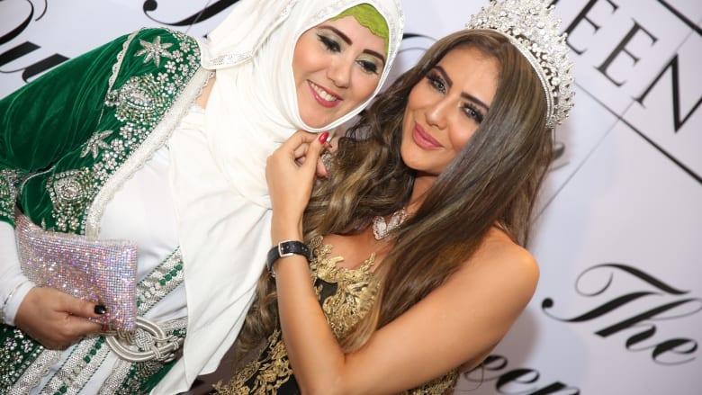 مريم حسين ووالدتها
