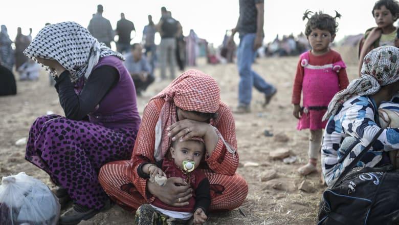 """200 ألف يفرون من """"داعش"""" في  أكبر عملية نزوح تشهدها سوريا"""