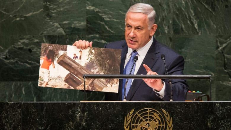 """نتنياهو: حماس هي من ارتكبت جرائم حرب في غزة ومجلس حقوق الإنسان يحمي """"إرهابيين"""""""